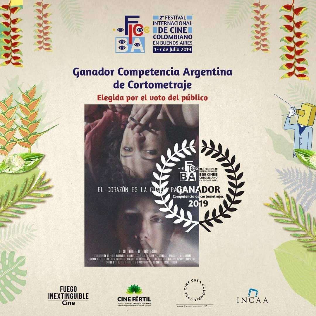 Más premios para nuestro corto «El Corazón es la Cuarta Pared»