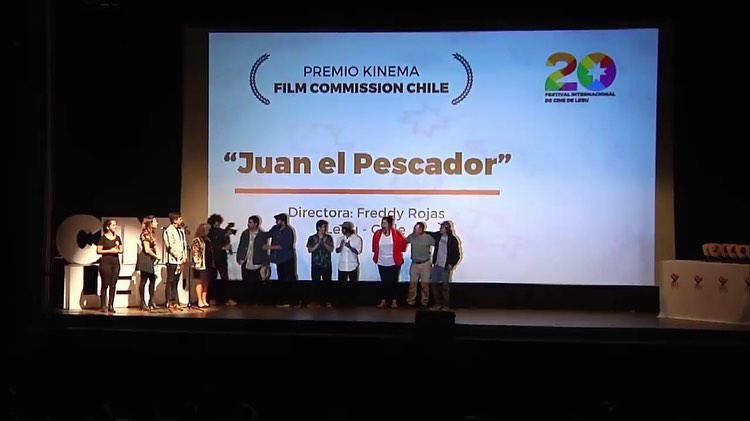 Alumno ganador en la competencia FILMA BIOBIO, Chile